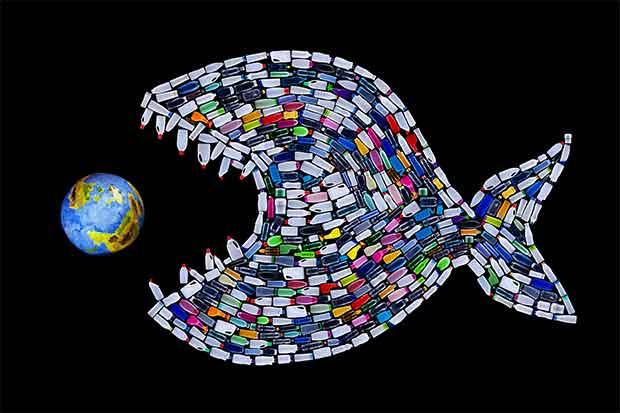 Inquinamento del mare da plastica