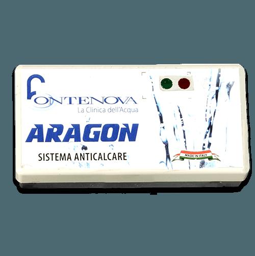 Dettaglio dell'anticalcare elettrico naturale aragon