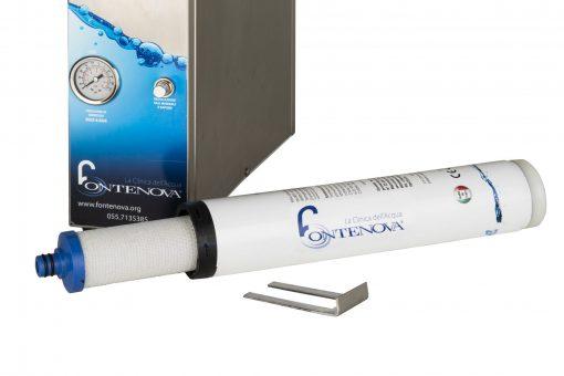 filtro a carboni attivi per depuratore d'acqua facilità di smontaggio