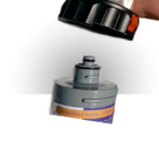 Immagine del montaggio di un filtro di depurazione acqua AQ5
